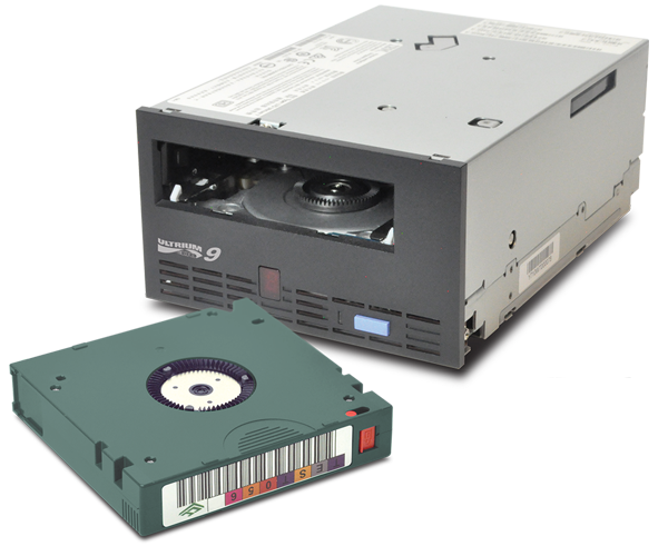 LTO 9 Tape Cartridge Image